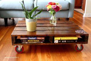 6 vật dụng trong nhà bằng gỗ pallet có thể tự đóng