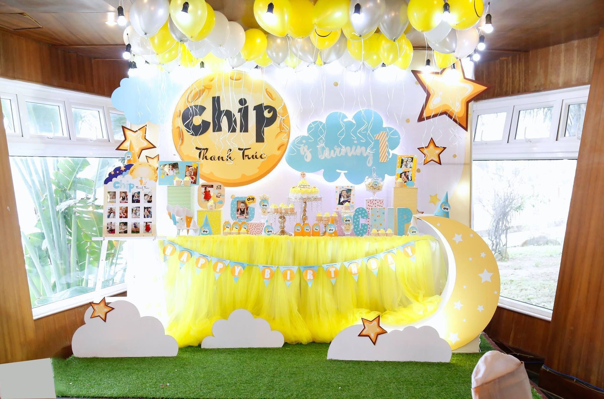 trang trí tiệc sinh nhật cho bé