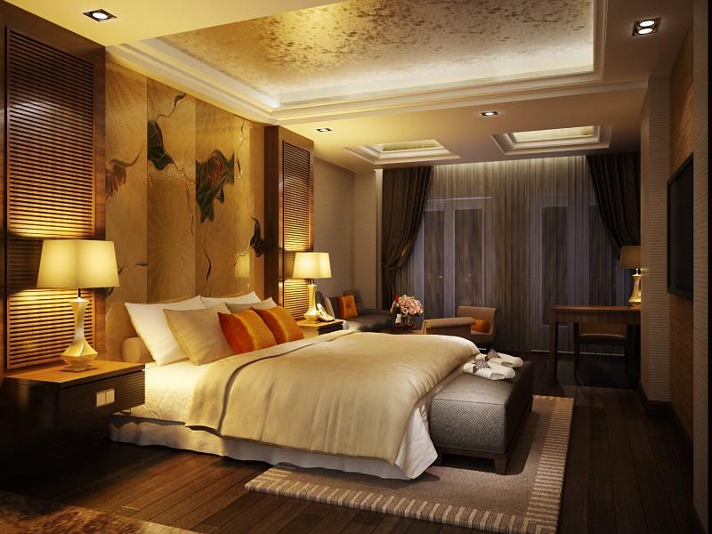 Bài trí nội thất hoàn hảo tại phòng ngủ