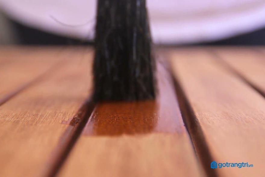 Các loại sơn gỗ