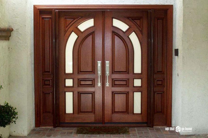mẫu cửa gỗ 4 cánh 7