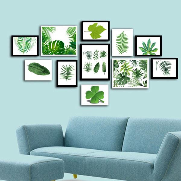 Trang trí phòng khách bằng tranh treo tường