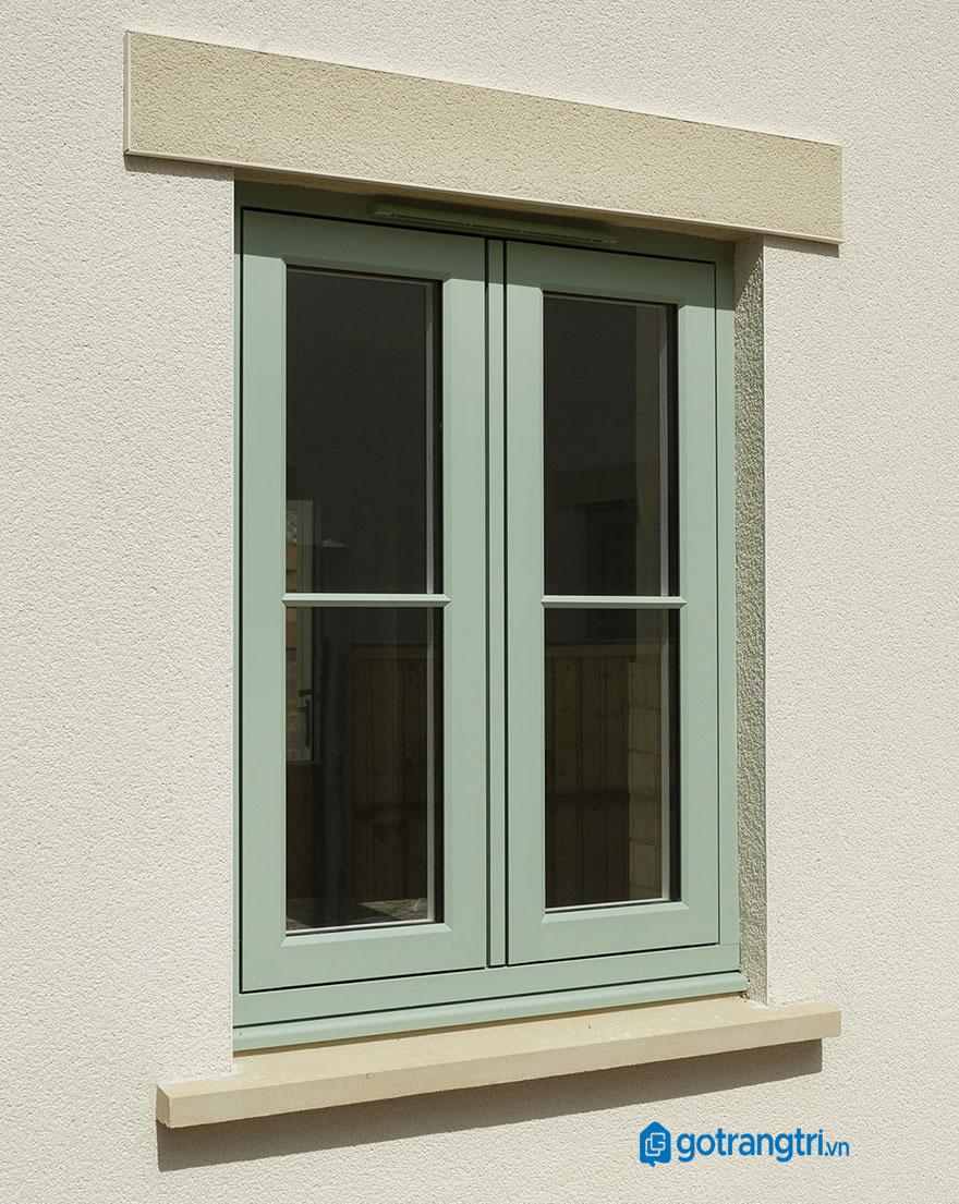 mẫu cửa sổ gỗ 2 cánh 9