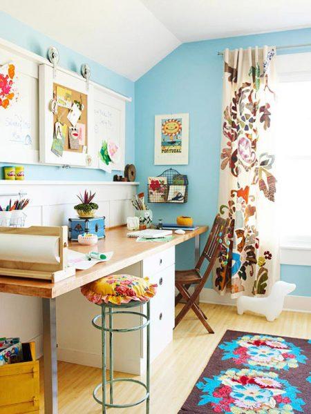 Trang trí phòng khách bằng đồ handmade