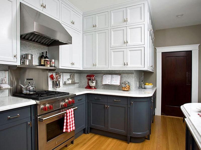 Gợi ý màu sắc tủ bếp nổi bật cho năm 2018