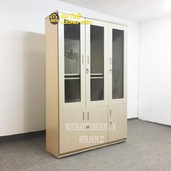 Tủ hồ sơ gỗ đa chức năng trong không gian