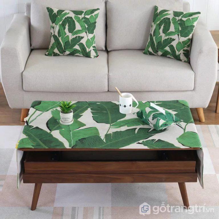 bàn trà gỗ tự nhiên