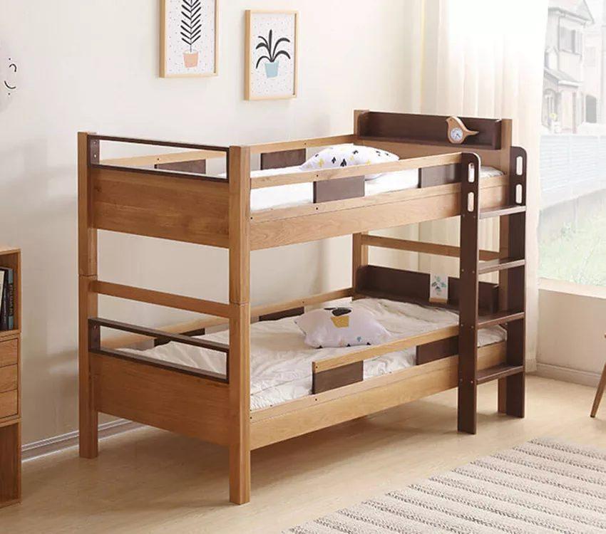 mẫu giường đơn giản mộc mạc, gần gũi