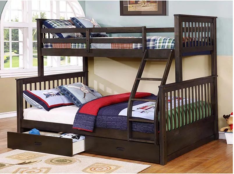 giường tầng gỗ