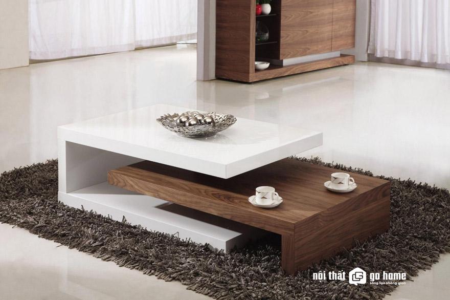 Đặc điểm của bàn trà hiện đại cho phòng khách