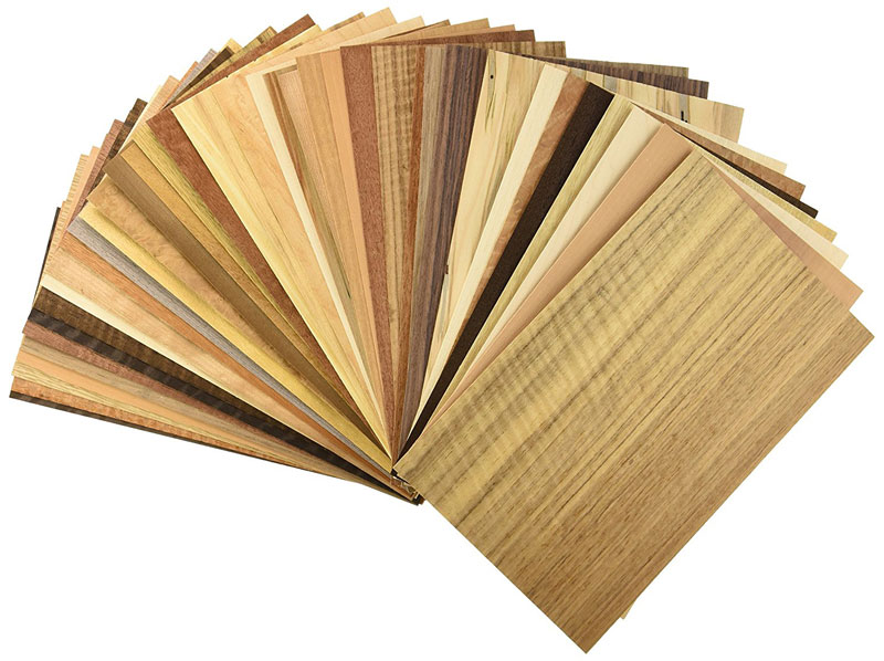 Các loại Veneer dùng để dán ép lên gỗ công nghiệp