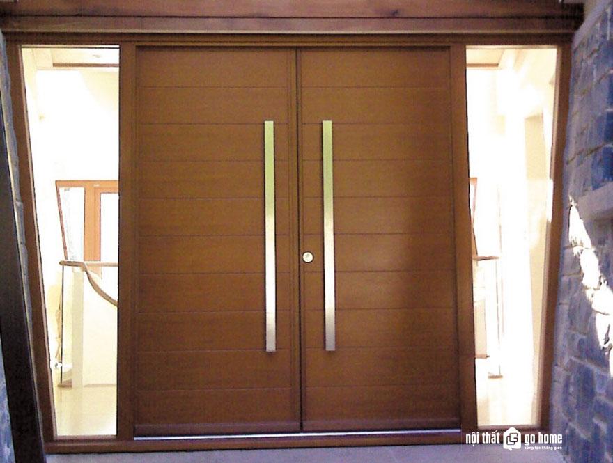 mẫu cửa gỗ 4 cánh 15