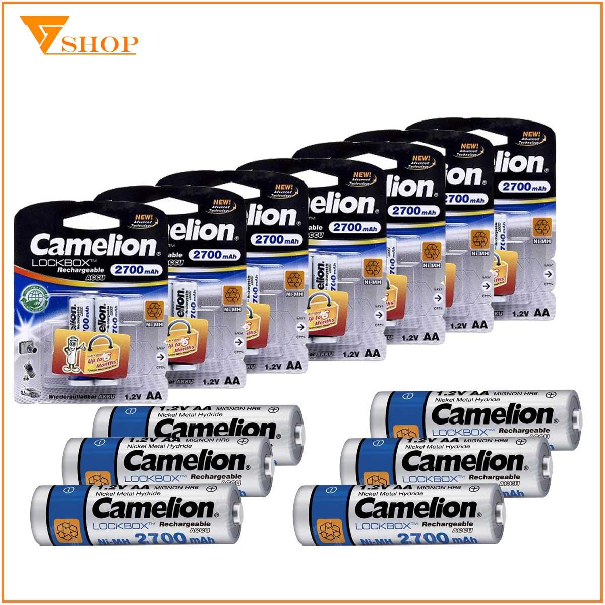 Pin sạc máy ảnh Camelion