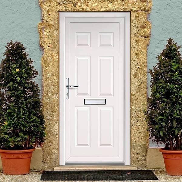 Các mẫu cửa chính 1 cánh đẹp cho ngôi nhà