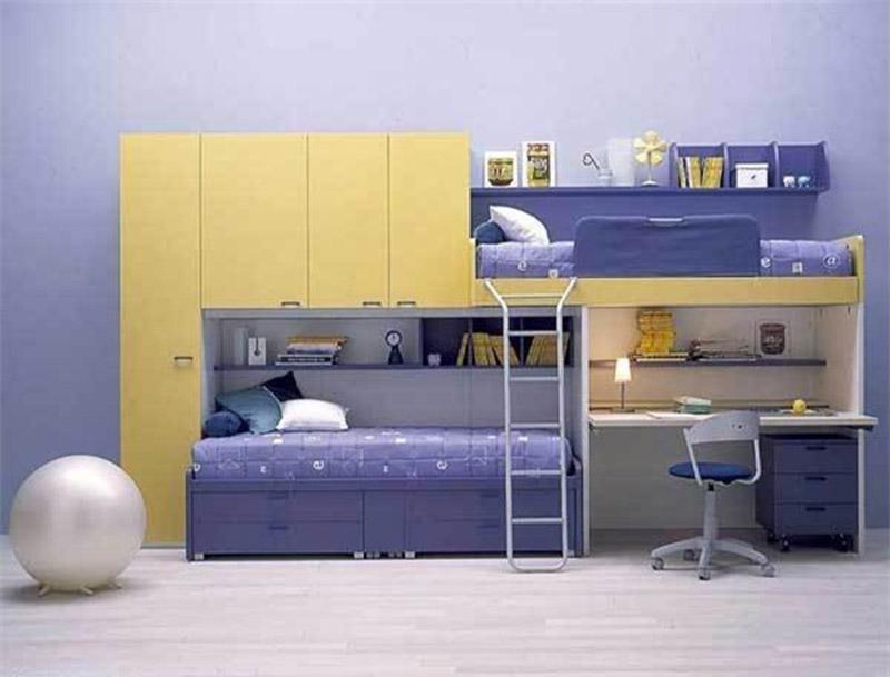giường ngủ thông minh đôi