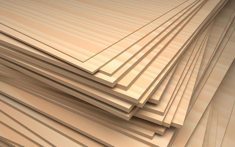 Plywood trong tiếng Anh là gỗ dán, nhưng nó được dán từ gì?