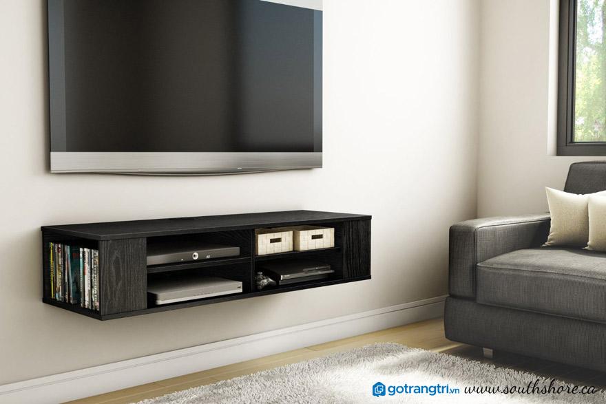 kích thước khuyến nghị cho kệ tv treo tường