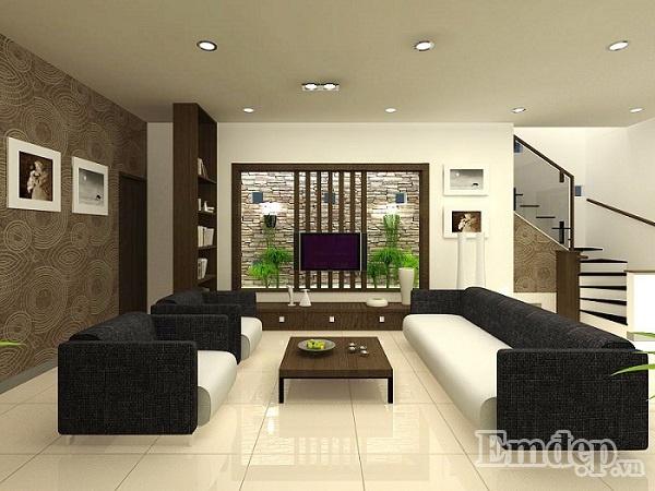 Tường nhà không bị thấm mang đến nét đẹp thẩm mỹ cho ngôi nhà.