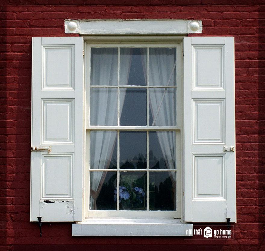 mẫu cửa sổ gỗ 2 cánh 10