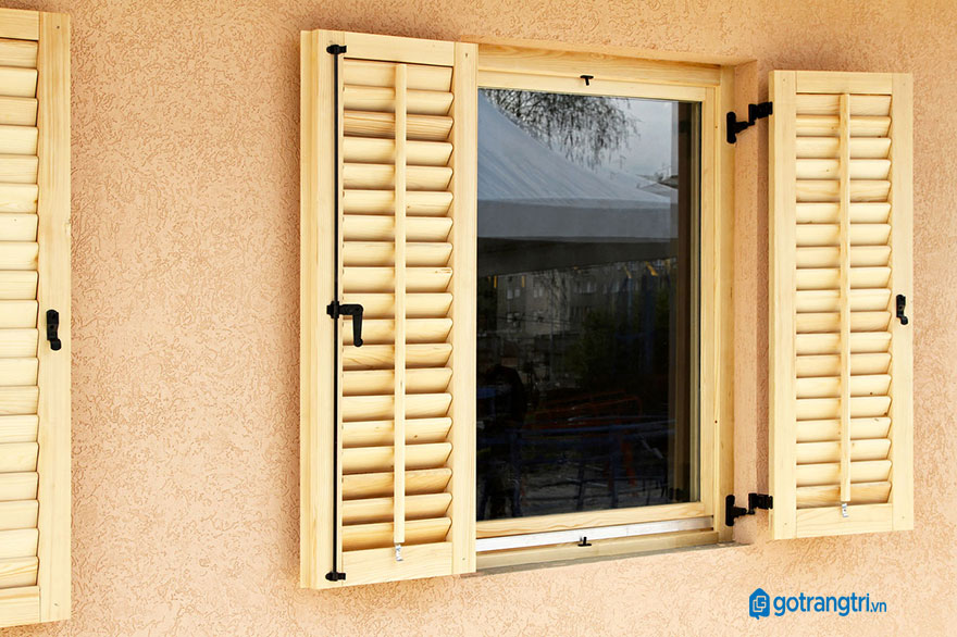 mẫu cửa sổ gỗ 2 cánh 1