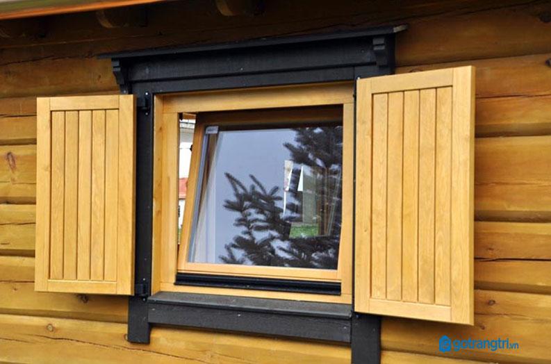 mẫu cửa sổ gỗ 2 cánh 4