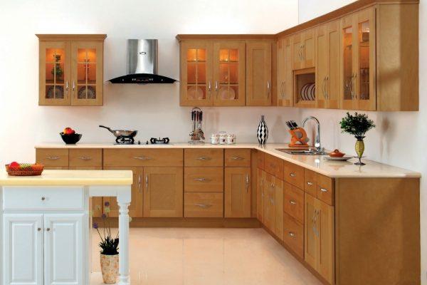 tủ bếp thông minh và hiện đại