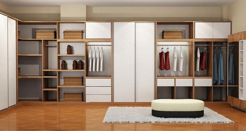 tủ quần áo thông minh và hiện đại