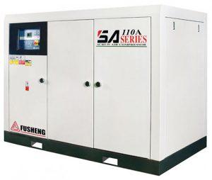Nguyên lý làm việc của máy nén khí trục vít không dầu