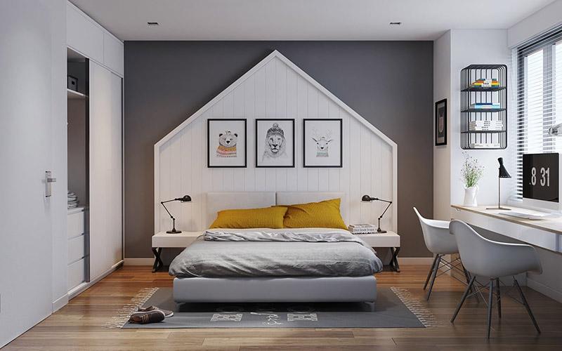 Thiết kế phòng ngủ nhỏ đẹp nhất
