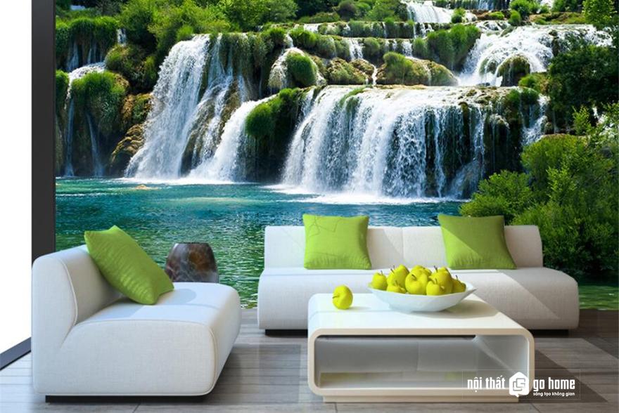 Tranh phong thuỷ treo tường phòng khách đẹp