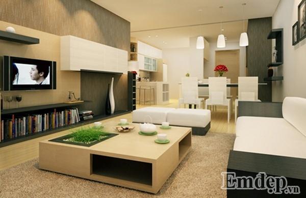 Hướng cửa chính vô cùng quan trọng đối có nhà mặt đất cũng như căn hộ nội thất chung cư..